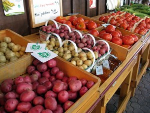 Local Potatoes and Tomatoes