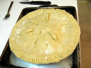 On Its Way To Pie