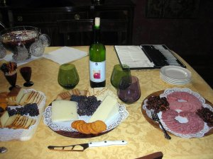 Wine & Cheese party 2
