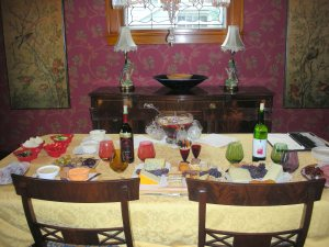Wine & Cheese party 3