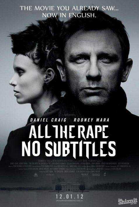 If 2012's Oscar-nominated movie posters told the truth - Movie Feature - TheShiznit.co.uk