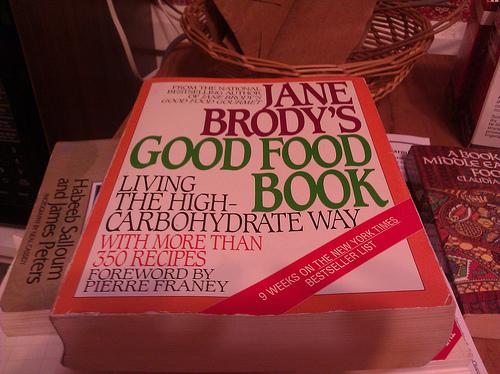 Jane Brody Cookbook