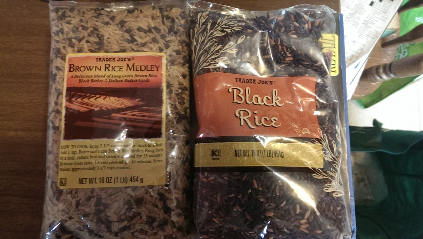 Rice packages