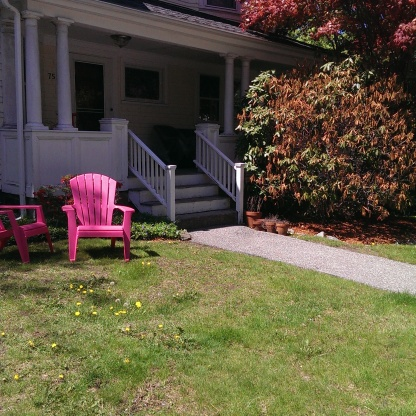 Have a Hot-Pink Seat