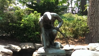 Menotomy Indian Statue