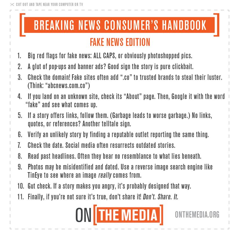 Fake news watch